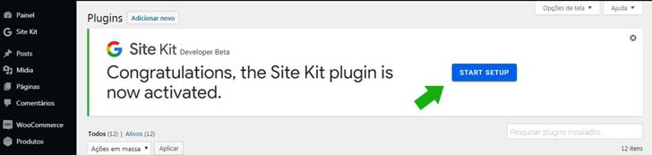 Site Kit do Google